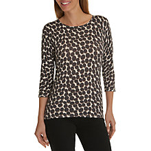 Buy Betty Barclay Dot Print Jumper, Grey/Taupe Online at johnlewis.com