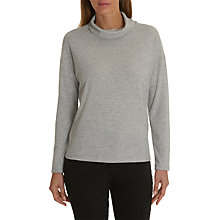 Buy Betty Barclay Melange Jersey Sweater, Light Grey Melange Online at johnlewis.com