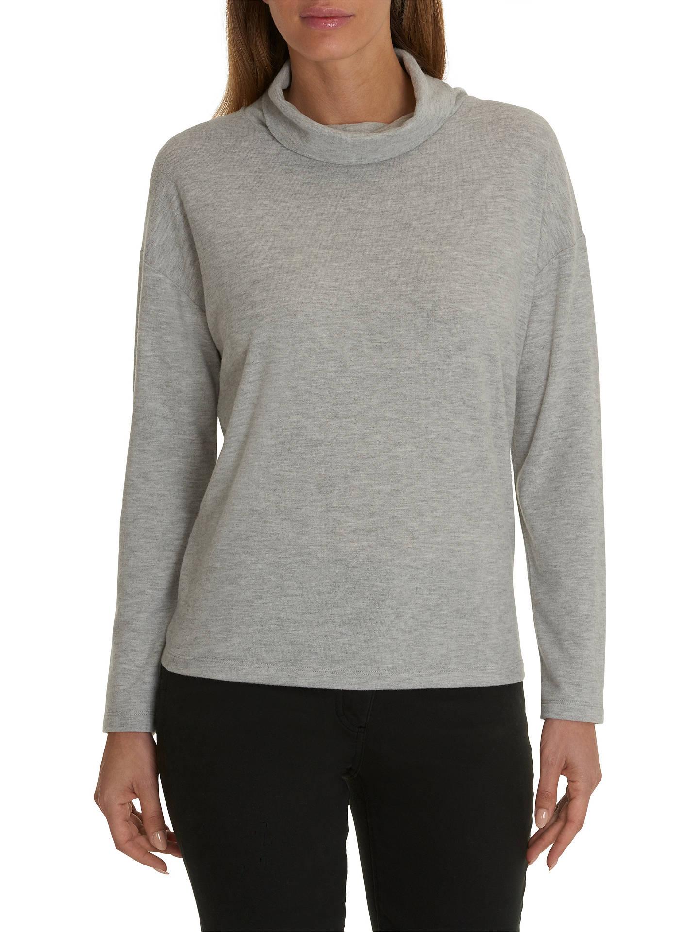 Betty Barclay Melange Jersey Sweater Light Grey Melange