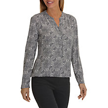 Buy Betty Barclay Paisley Print Blouse, Grey/Cream Online at johnlewis.com