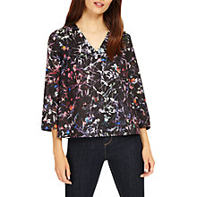 Buy Phase Eight Midnight Garden Floral Top, Multi Online at johnlewis.com
