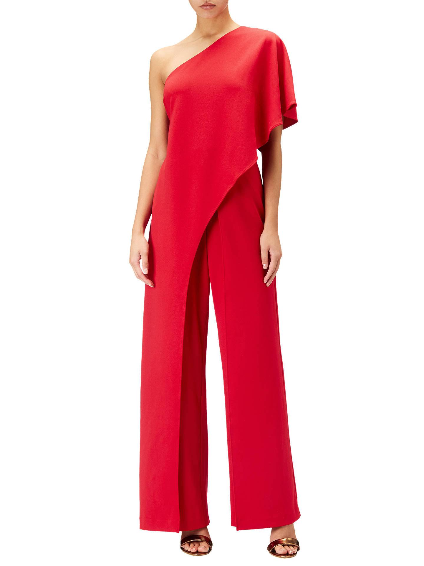 cfa60f774260 ... Buy Adrianna Papell Flutter One Shoulder Jumpsuit