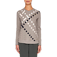 Buy Ted Baker Colour By Numbers Yessica Woven Front Cotton Jumper Online at johnlewis.com