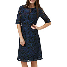 Buy Sugarhill Boutique Rosemary A-Line Lace Dress, Navy/Black Online at johnlewis.com