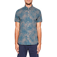 Buy Ted Baker Graphic Print Wash Shirt Online at johnlewis.com
