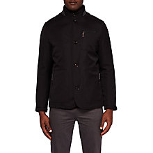 Buy Ted Baker Romeo Jacket, Black Online at johnlewis.com