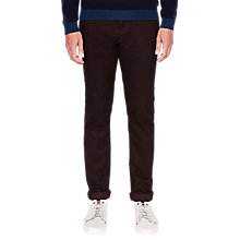 Buy Ted Baker T for Tall Neopall Trousers, Dark Red Online at johnlewis.com