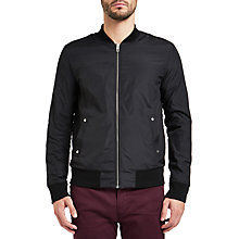 Buy BOSS Orange Ztraight Jersey Top, Black Online at johnlewis.com