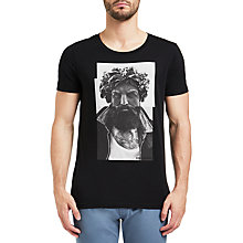 Buy BOSS Orange Taxable T-Shirt, Black Online at johnlewis.com