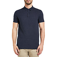 Buy BOSS Orange Perfect Polo Shirt, Dark Blue Online at johnlewis.com