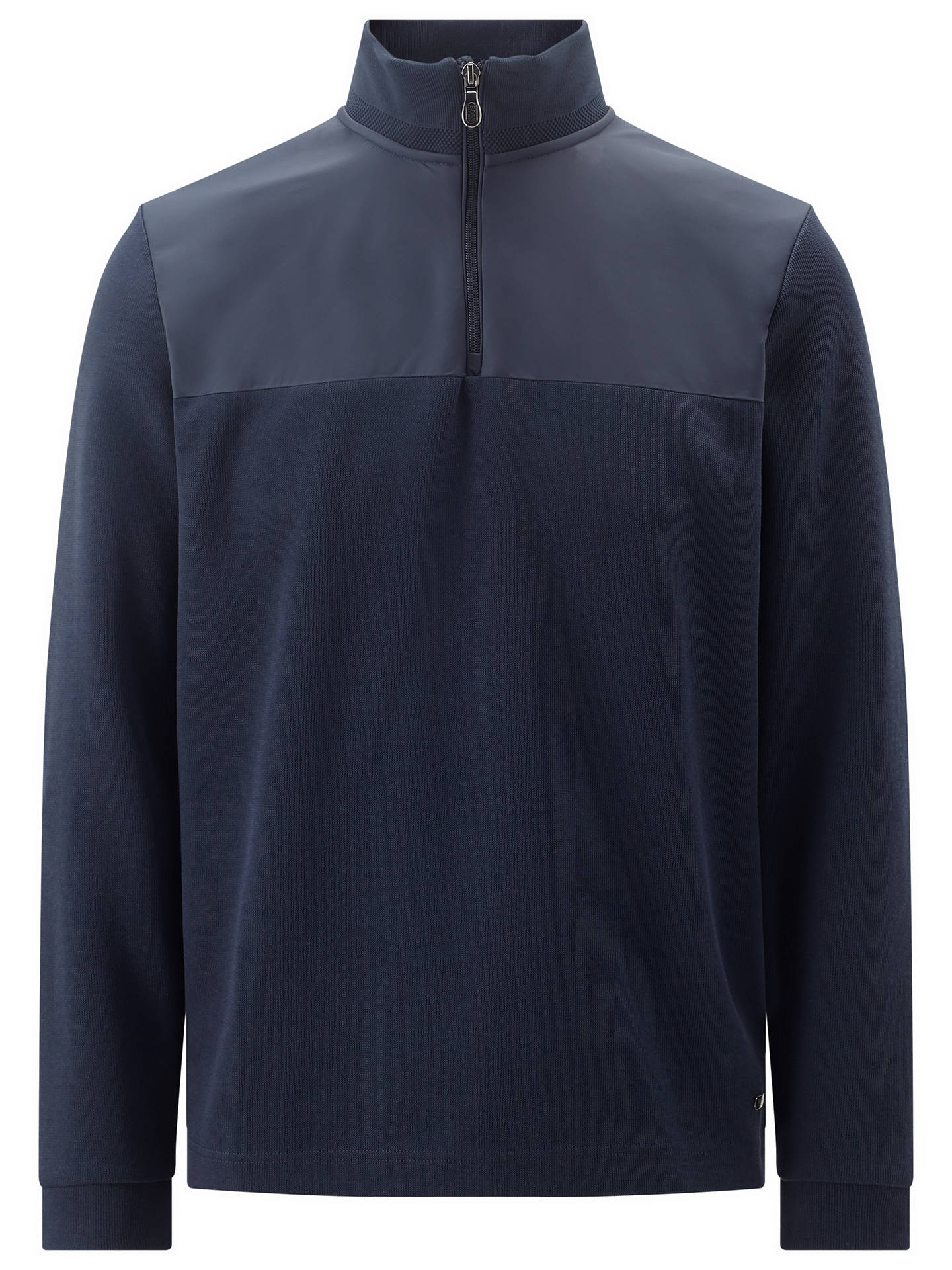 BuyBOSS Green C-Piceno Jumper, Navy, S Online at johnlewis.com