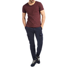 Buy BOSS Orange Shay2-D Trousers, Dark Blue Online at johnlewis.com