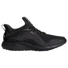 Buy Adidas Alphabounce EM Men's Running Shoes, Black Online at johnlewis.com