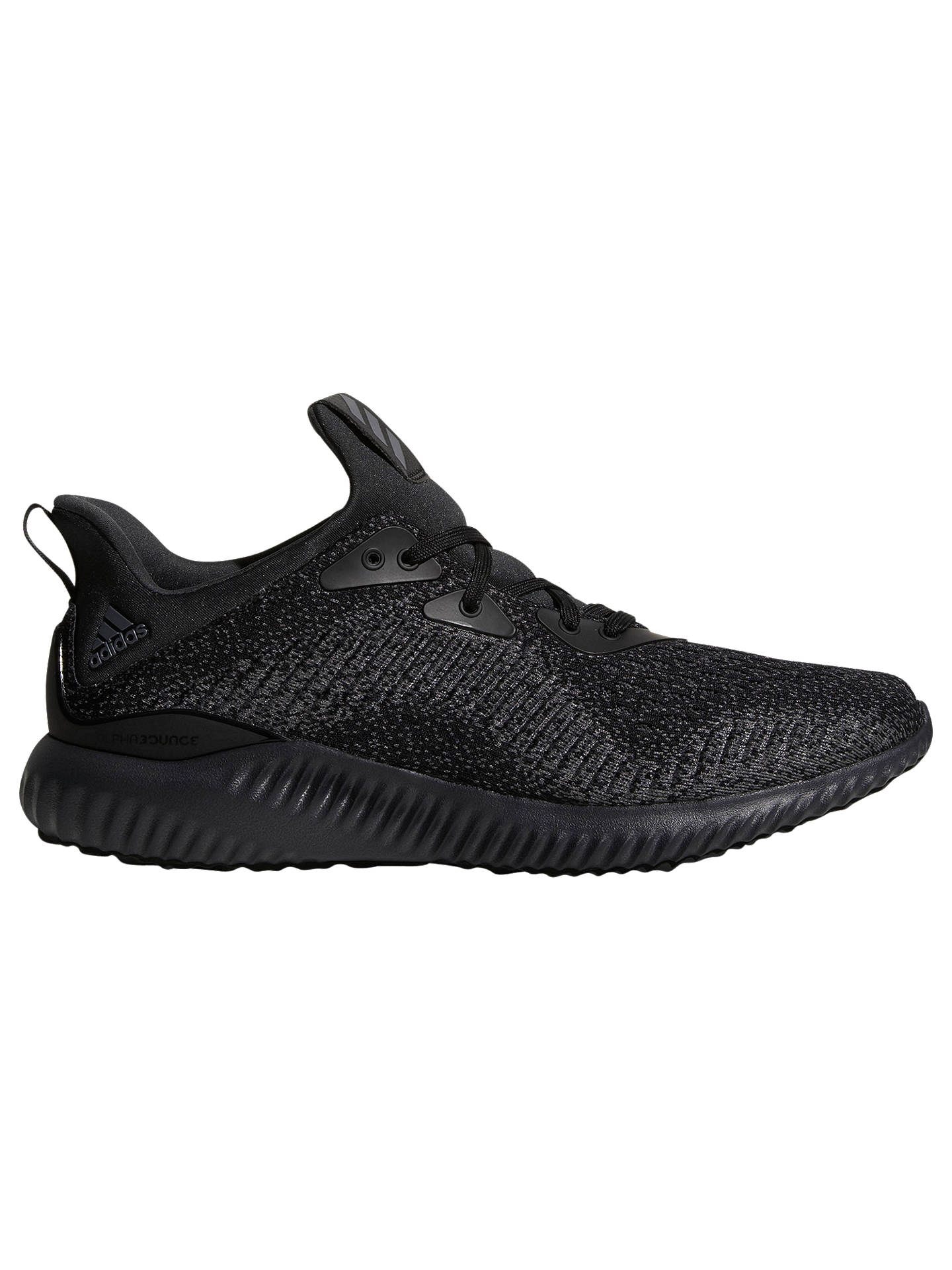 lowest price e4a3f 361e0 Buyadidas Alphabounce EM Mens Running Shoes, Black, 7 Online at johnlewis.  ...