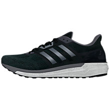 Buy Adidas Supernova Men's Running Shoes, Black Online at johnlewis.com