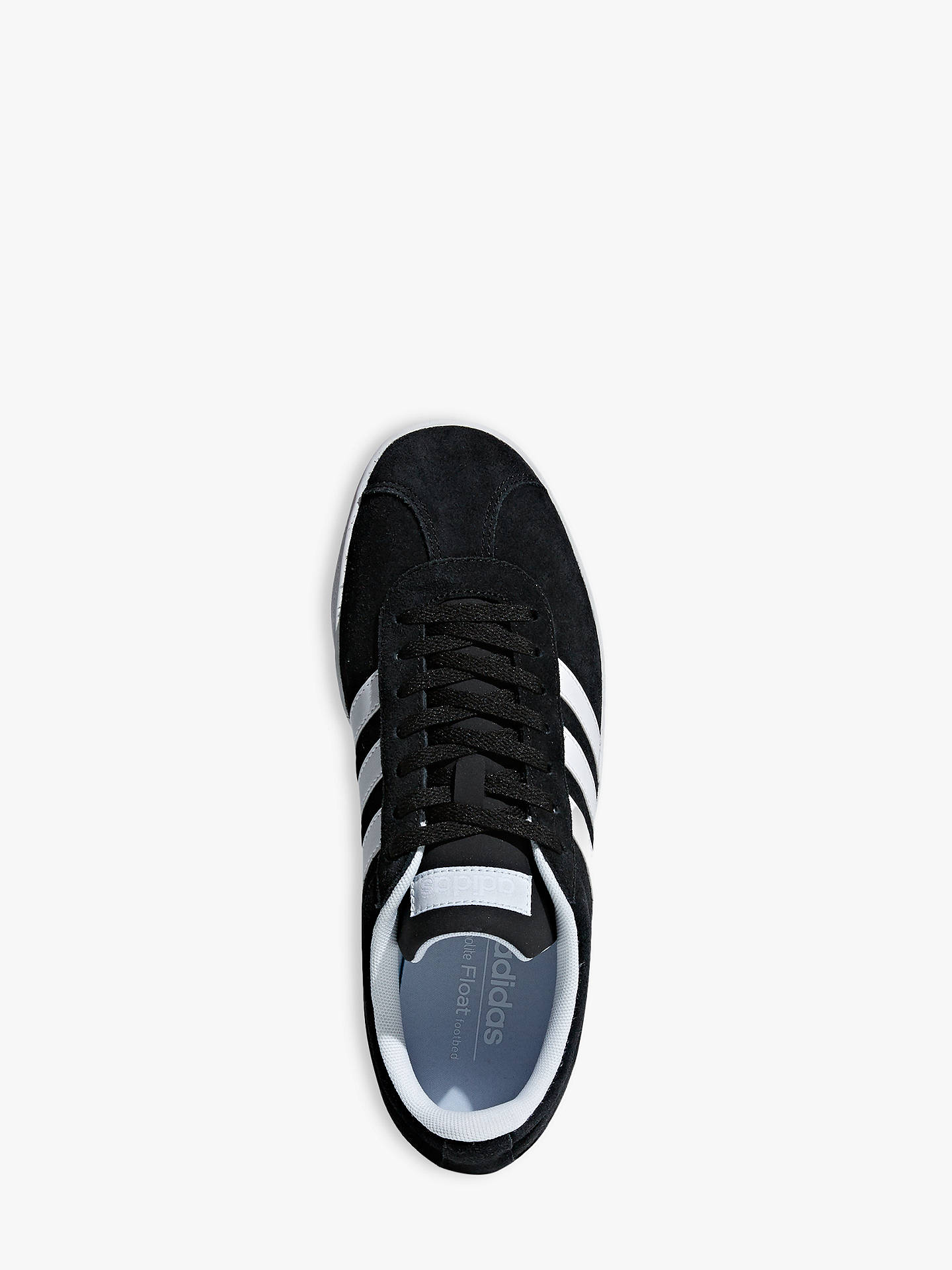 Buyadidas VL 2.0 Court Women's Trainers, Core Black, 4 Online at johnlewis.com