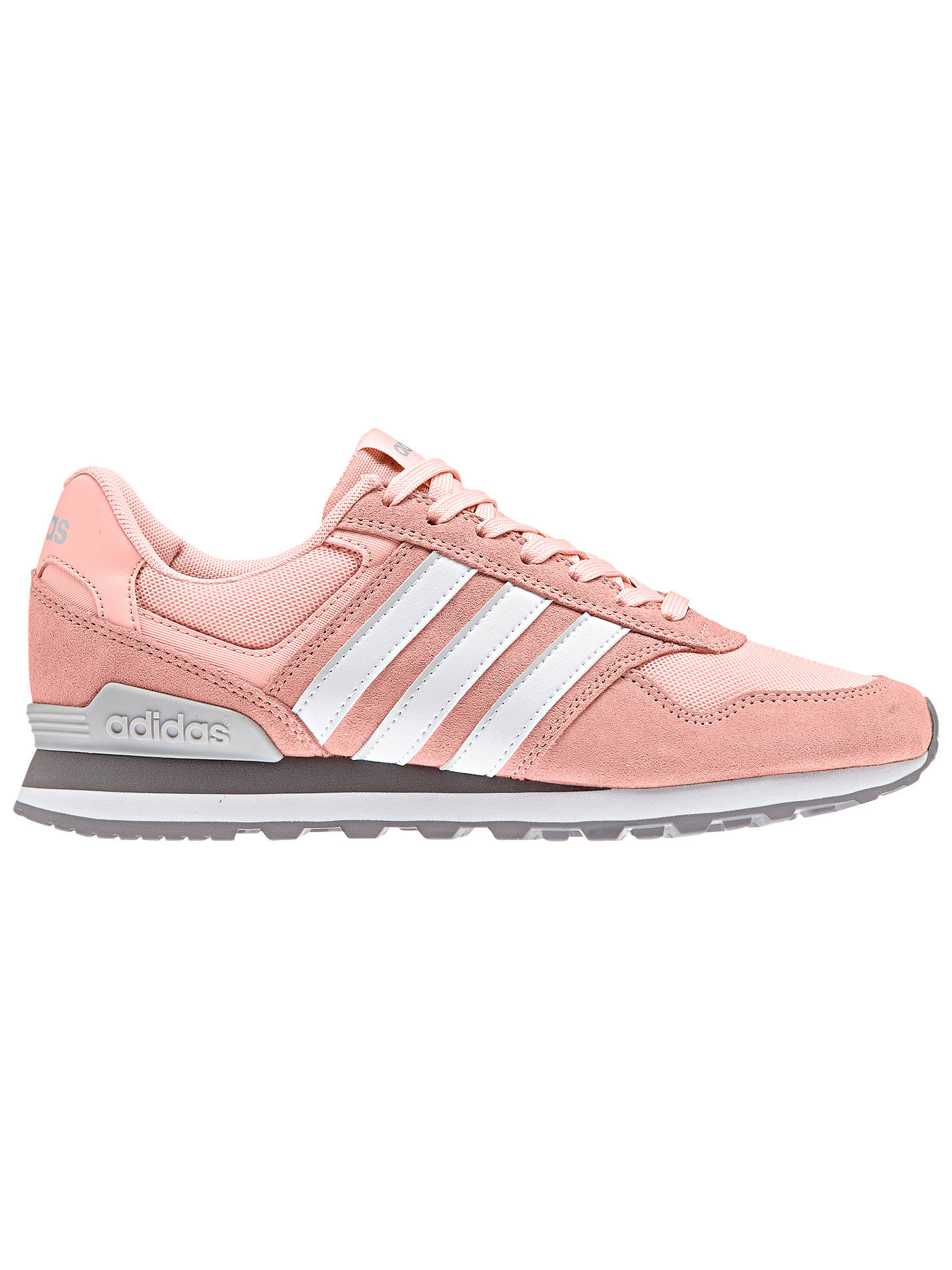 meet 3d5fa 53e29 Buy Adidas Neo 10K Casual Women s Trainers, Haze Coral, 5 Online at  johnlewis.