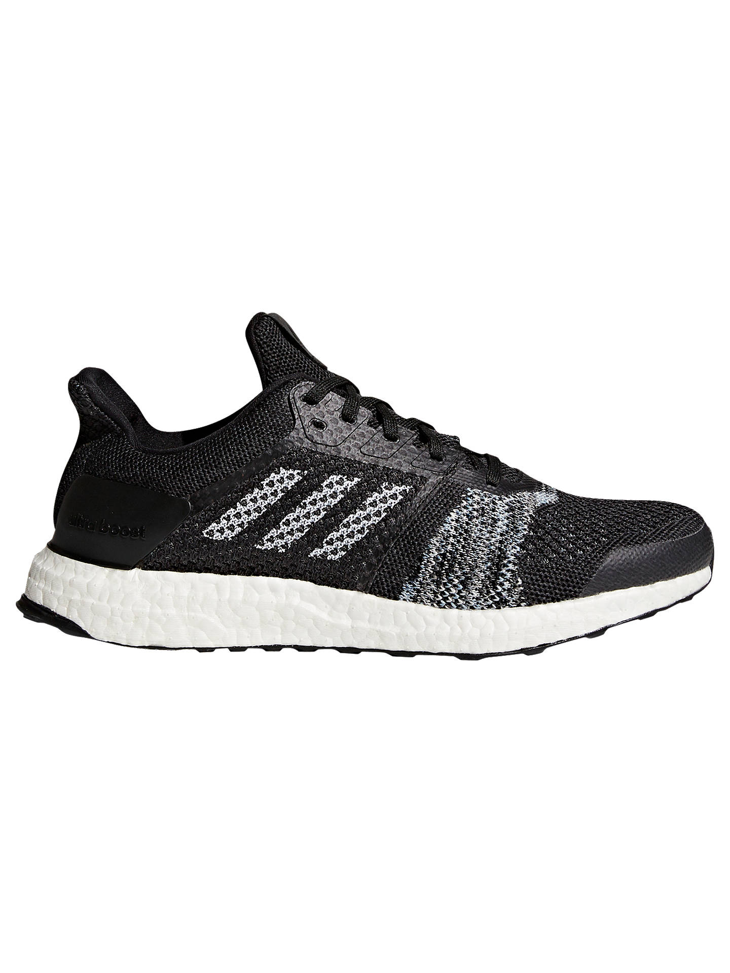 sale retailer 21454 80442 Buy adidas UltraBOOST ST Men s Running Shoes, Black, 7 Online at johnlewis.  ...