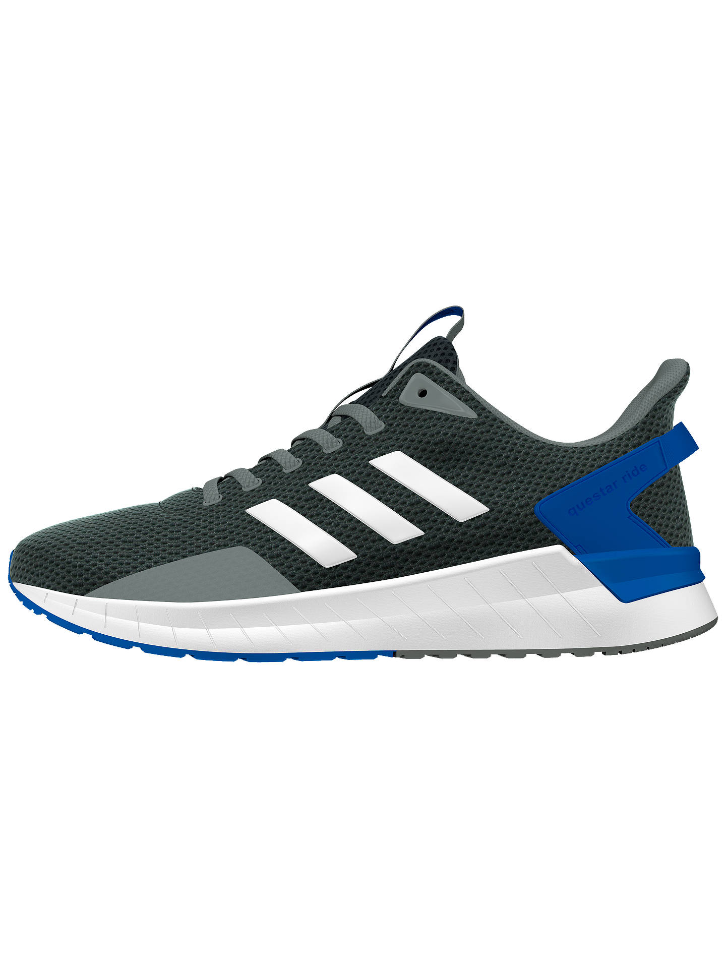 wholesale dealer 5fbcb 97474 Buyadidas Questar Ride Mens Running Shoes, Grey, 7 Online at johnlewis. ...