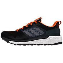 Buy adidas Supernova Trial Men's Running Shoes, Black Online at johnlewis.com