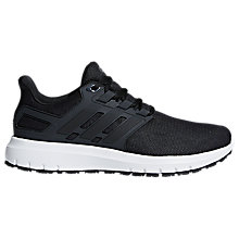 Buy adidas Energy Cloud 2 Men's Running Shoes, Black Online at johnlewis.com