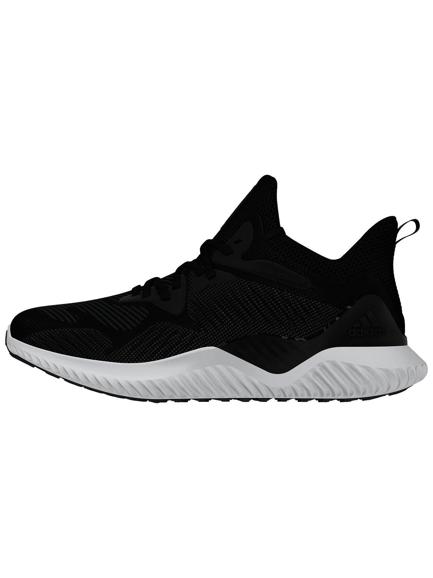 meet 00844 849df Buy adidas Alphabounce Beyond Womens Running Shoes, Core Black, 4 Online  at johnlewis.