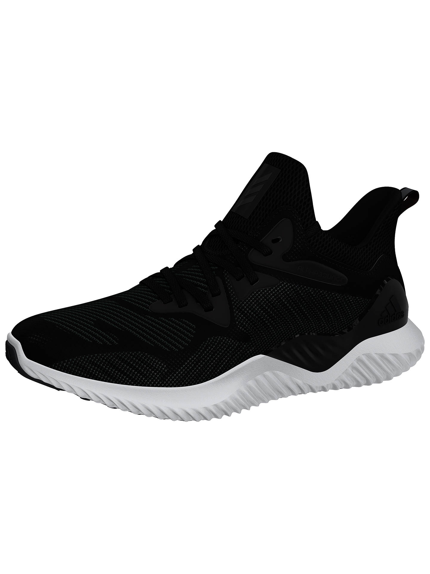 ... Buyadidas Alphabounce Beyond Womens Running Shoes, Core Black, 4  Online at johnlewis. ...