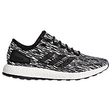 Buy adidas Pureboost Men's Running Shoes, Core Black Online at johnlewis.com