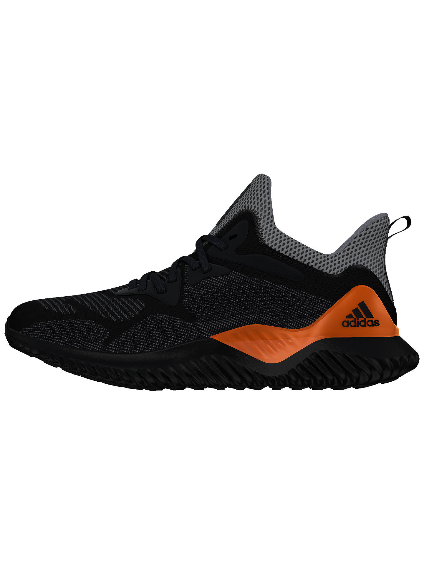 super popular 42977 f3a04 BuyAdidas Alphabounce 2 Mens Running Shoes, Grey, 7 Online at johnlewis.  ...