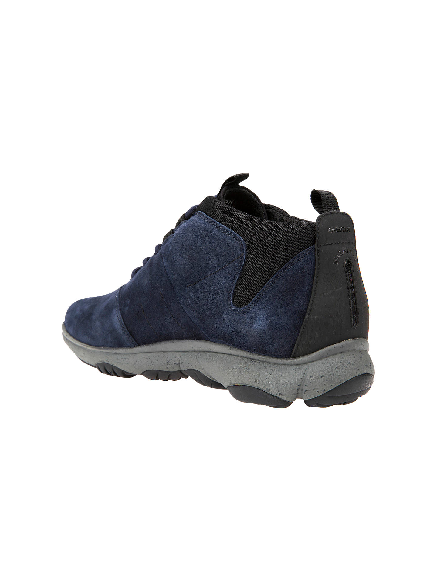 columpio Cuña donante  Geox Nebula Amphibiox Waterproof 4x4 Breathing Suede Trainers at John Lewis  & Partners