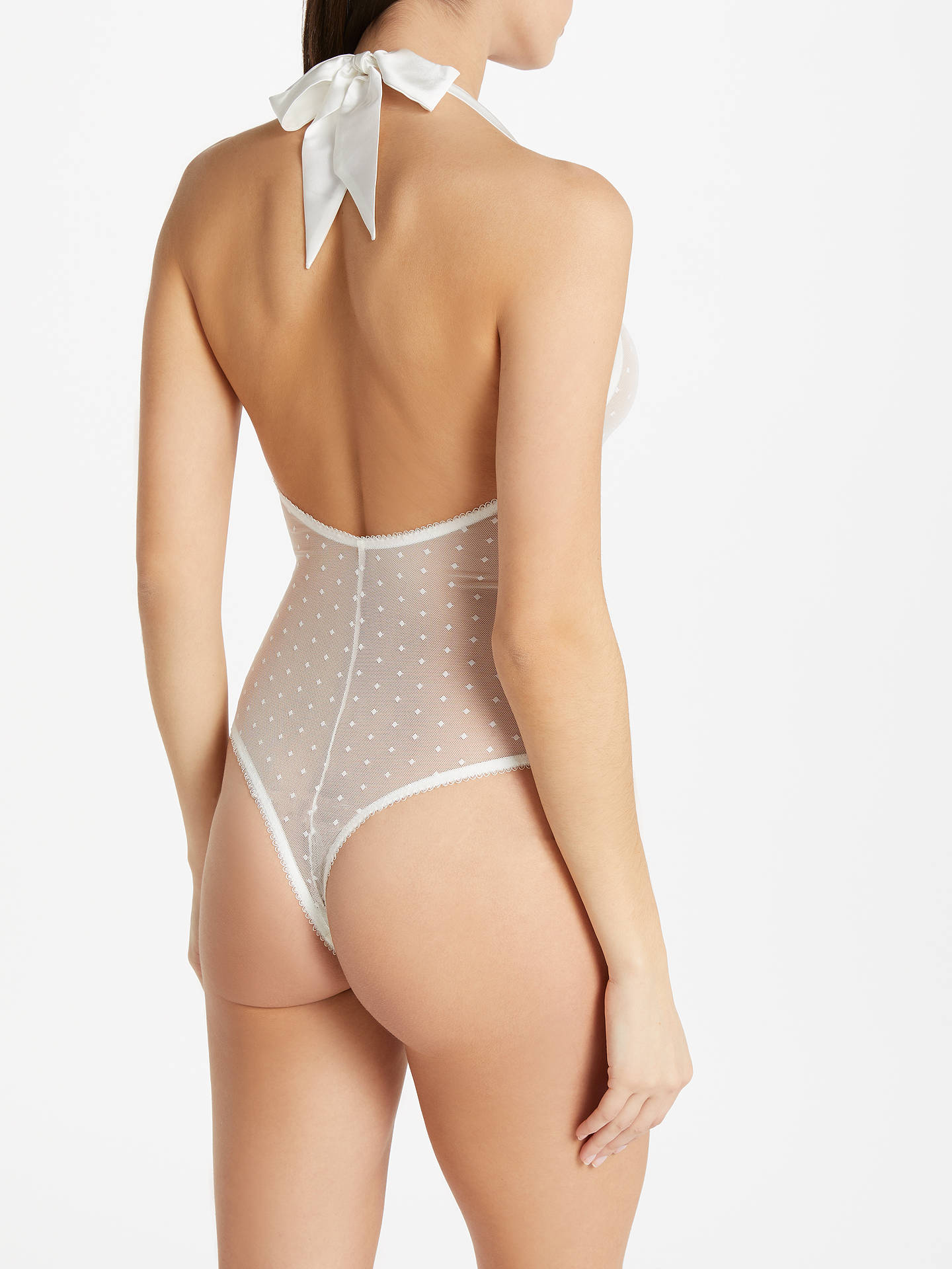 BuySomerset by Alice Temperley Lea Bridal Lace Body, Cream, M Online at johnlewis.com