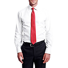Buy Thomas Pink Timothy Texture XL Sleeve Slim Fit Shirt, White Online at johnlewis.com