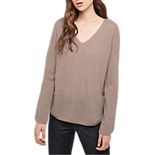 Buy Gerard Darel Loula Cashmere Jumper, Beige Online at johnlewis.com