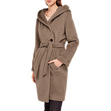 Buy Gerard Darel Gustave Wool Coat, Beige Online at johnlewis.com