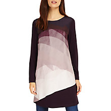 Buy Phase Eight Veronica Tunic Top, Nightshade Online at johnlewis.com