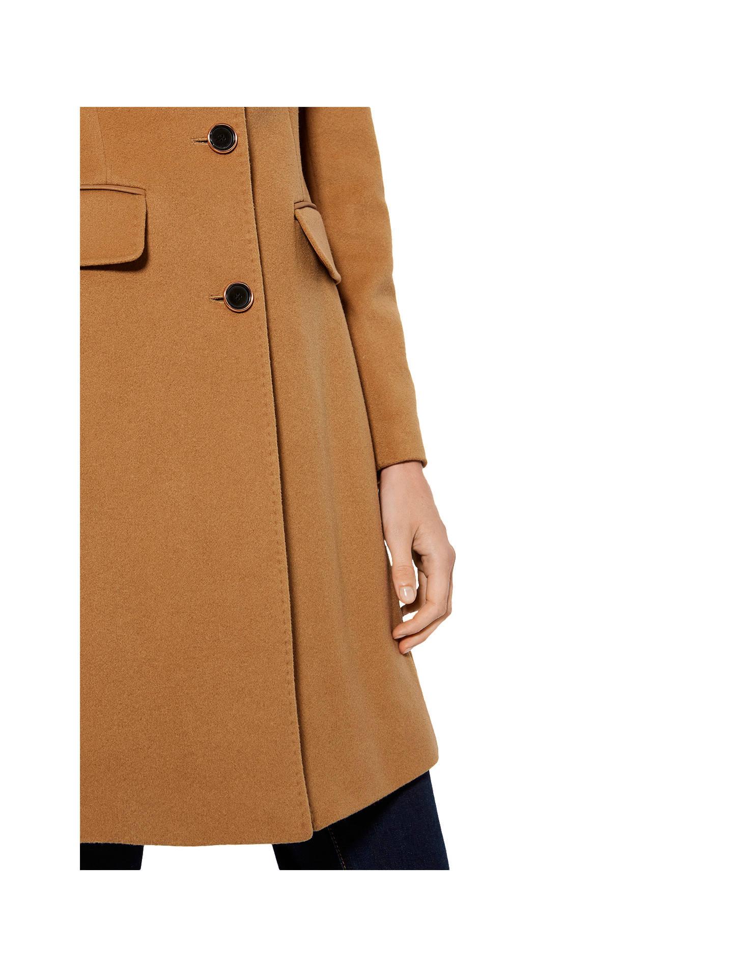 numerousinvariety how to get buying new Karen Millen Coat, Camel at John Lewis & Partners