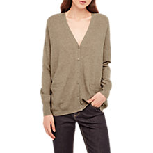Buy Gerard Darel Lilli Cashmere Cardigan, Beige Online at johnlewis.com