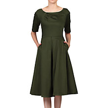 Buy Jolie Moi Half Sleeve Scoop Neck Swing Dress Online at johnlewis.com