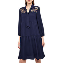 Buy Gerard Darel Naomi Long Sleeve Dress, Blue Online at johnlewis.com