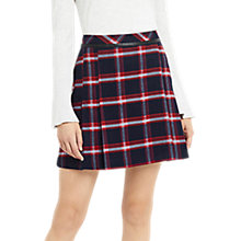 Buy Oasis Marias Check Skirt, Multi Online at johnlewis.com