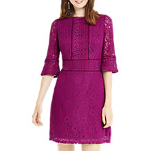 Buy Oasis Kick Sleeve Lace Dress Online at johnlewis.com