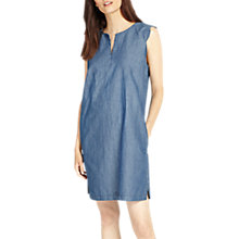 Buy Phase Eight Darcie Scallop Dress, Soft Blue Online at johnlewis.com