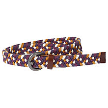 Buy Fat Face Olivia Braided Belt, Purple/Multi Online at johnlewis.com