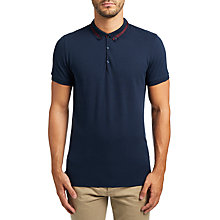 Buy BOSS Orange Pejo Regular Fit Polo Shirt, Dark Blue Online at johnlewis.com