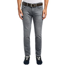 Buy BOSS Orange Orange63 Jeans, Charcoal Online at johnlewis.com