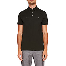 Buy Ted Baker Shaz Polo Shirt, Mid Green Online at johnlewis.com