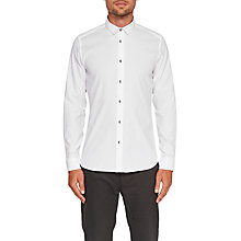 Buy Ted Baker Luxem Shirt, White Online at johnlewis.com
