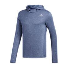 Buy Adidas Response Astro Running Hoodie, Noble Indigo Online at johnlewis.com