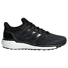 Buy Adidas Supernova Women's Running Shoes, Core Black Online at johnlewis.com