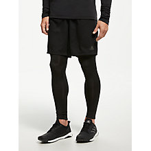Buy adidas Response Long Running Tights, Black Online at johnlewis.com